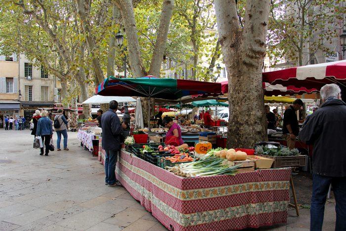 Farmers Market In Aix-en-Provence