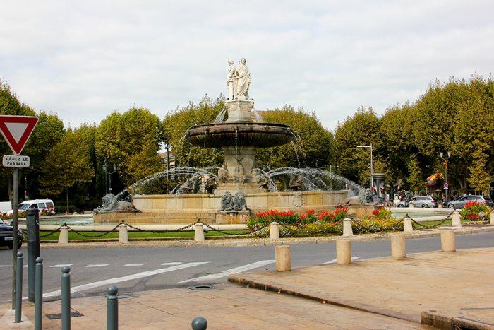 Fontaine del la Rontonde In Aix-en-Provence