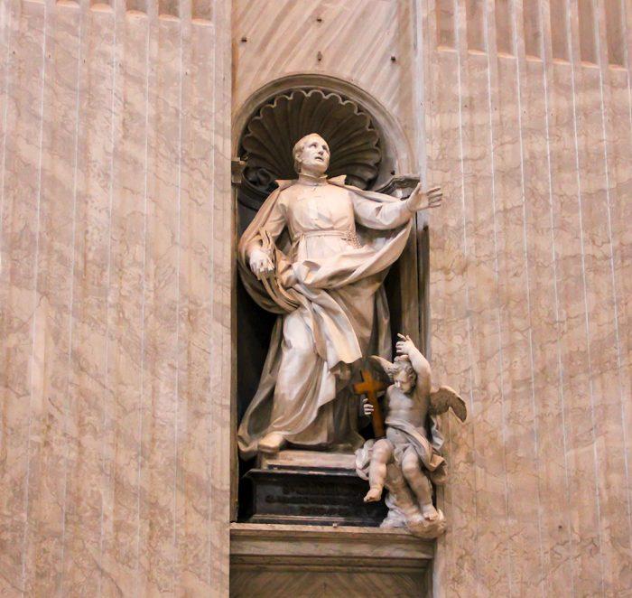 St. Camillus De  Lellis Pacilli Inside St. Peters Basilica