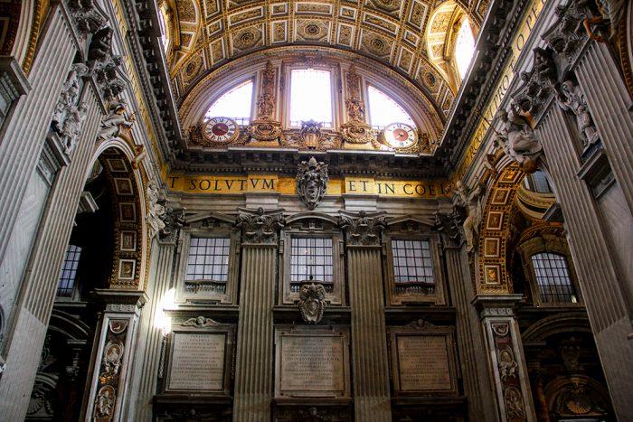St. Peters Basilica Transept