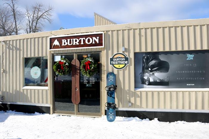 Burton Snowboard Shop