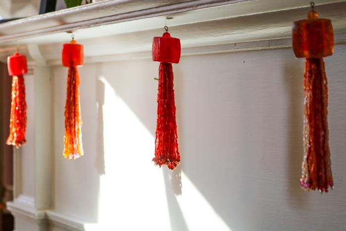 Hanging Tassels