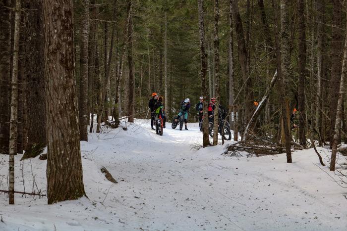 Fat Tire Bike Snow Trail Riders