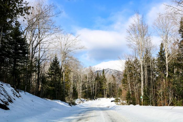 Little Bigelow Mountain In Maine