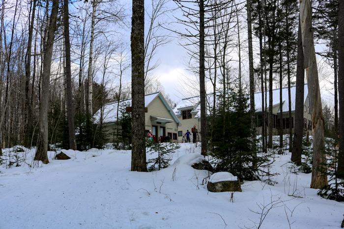 An Uphill View Of The Poplar Hut