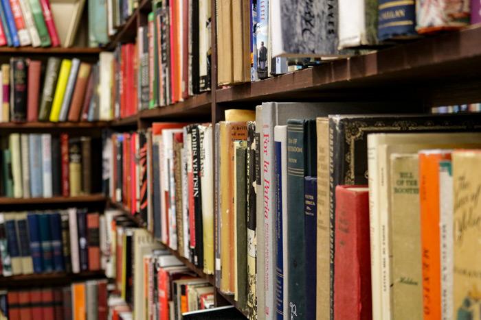 A Close Up Of Books On A Shelf