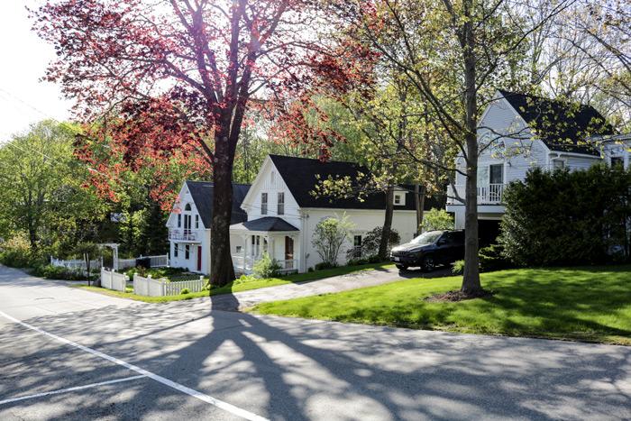 Atlantic Avenue In Camden Maine