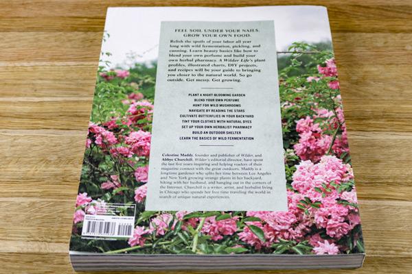 A Wilder Life Book Back