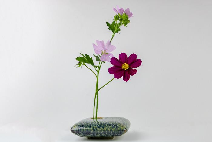 Soe Portion Of A Ikebana Arrangement