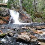 A Fall Hike to Poplar Stream Falls in Carrabassett Valley, Maine