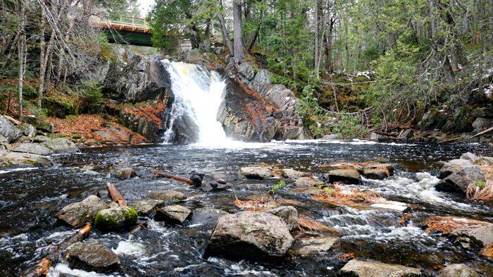Base Of Waterfall