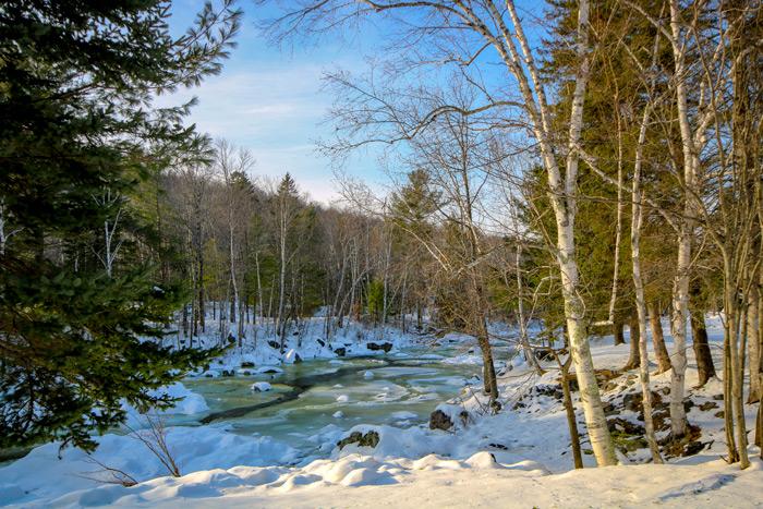 Carrabassett River In Maine