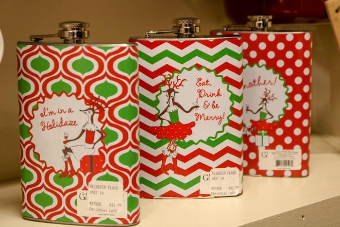 Christmas Flasks
