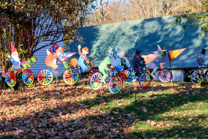 Colorful Lawn Ornaments