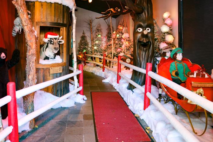 Entering The Christmas Loft