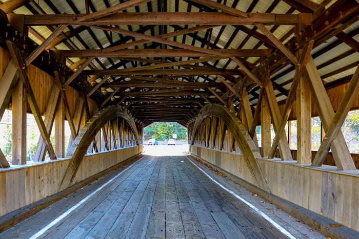 The Inside Of The Bridge