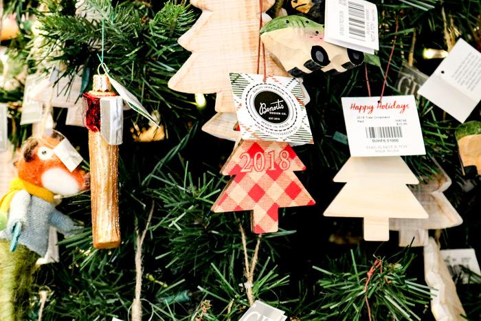 L.L. Bean Christmas Ornaments