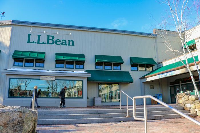L.L. Bean Store In Freeport Maine