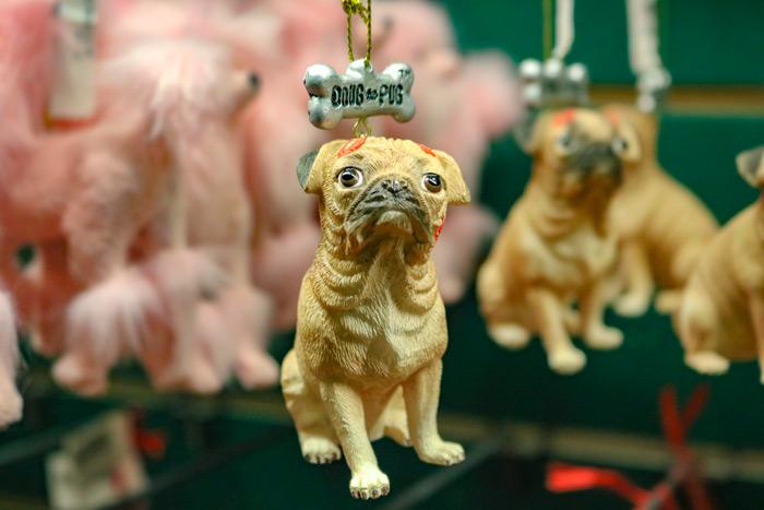 Pug Ornaments