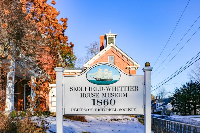 Skolfield Whittier House Museum