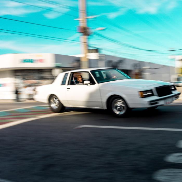 White Buick Regal