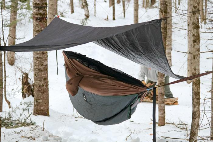 Hanging The Sleeping Bag
