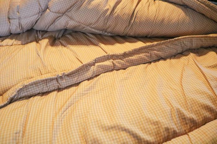 Inside Of Sleeping Bag