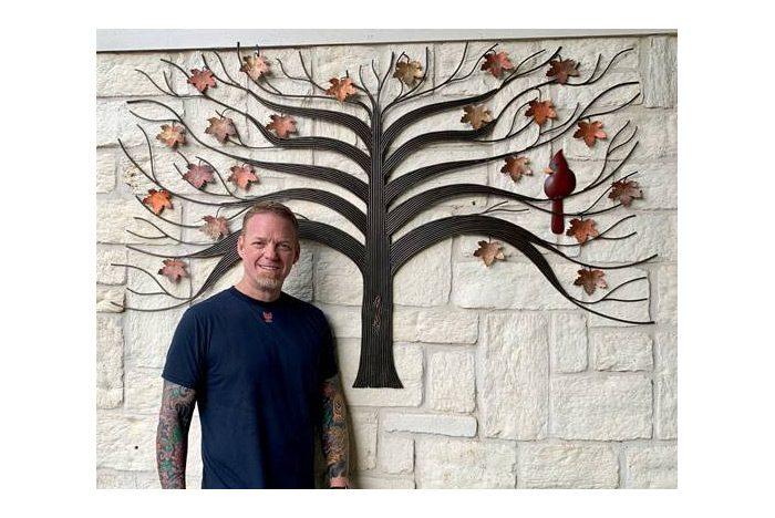 Jeff With Tree