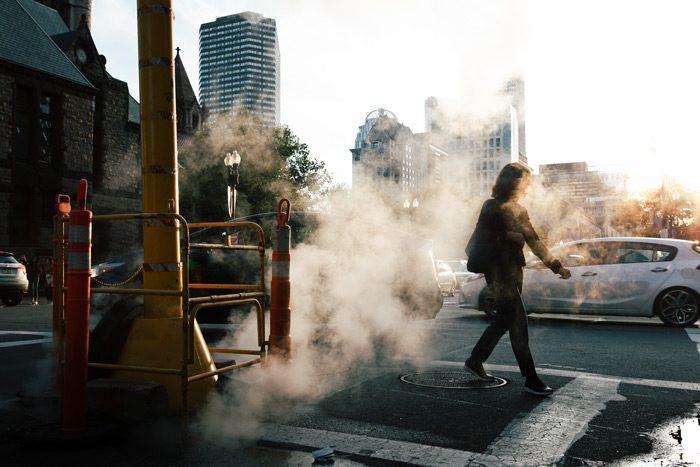 Manhole Steam