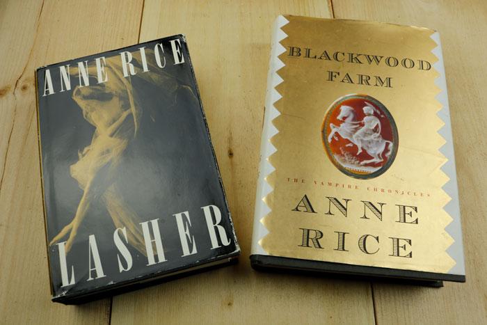 Lasher And Blackwood Farm Books