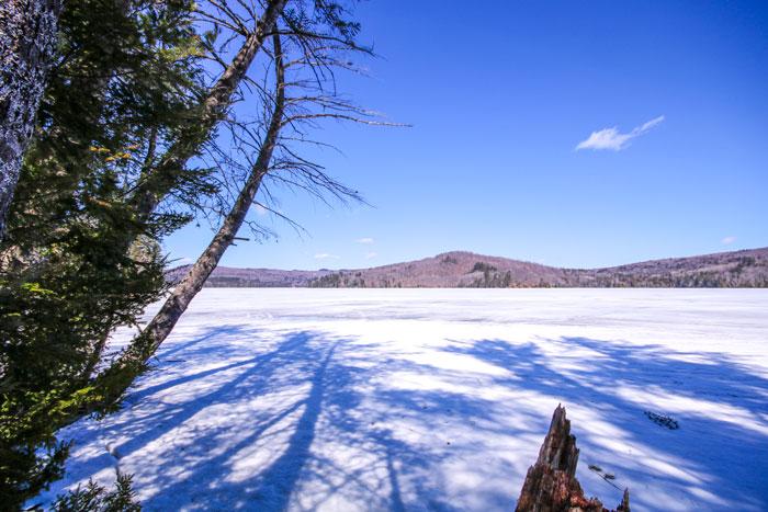 Ice Covered Lake