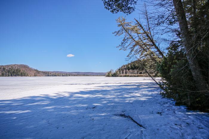 Wyman Lake In Moscow Maiine
