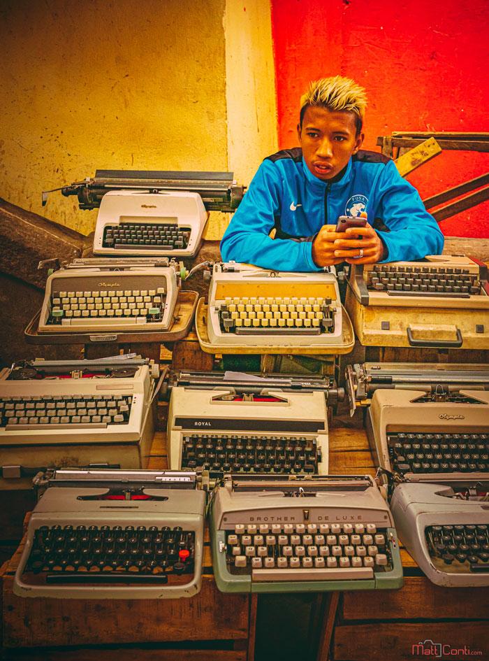Antananarico Typewriters