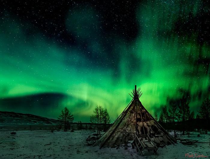 Aurora In Siberia