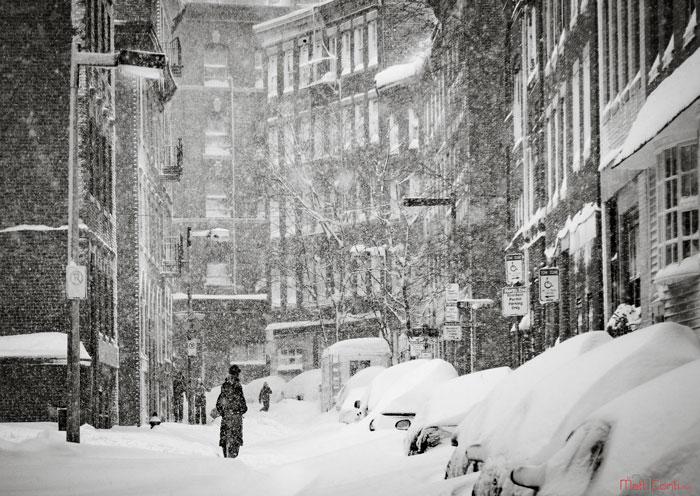 Boston In The Snow