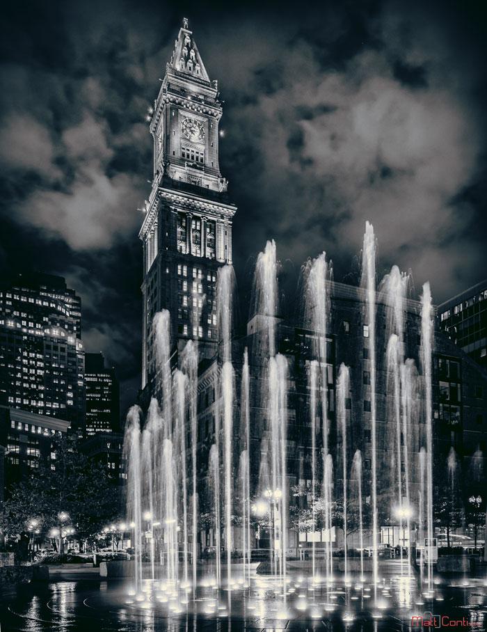 Towering Fountain