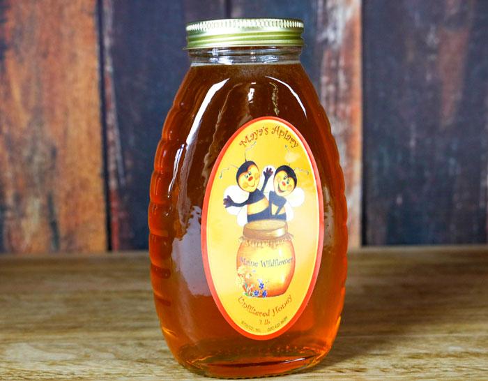 Maine Jar Of Honey 5-25
