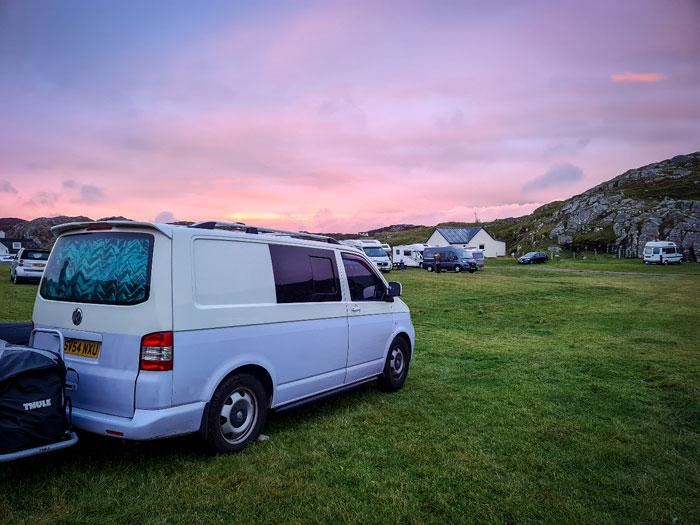 Pink Sky Van 6-25