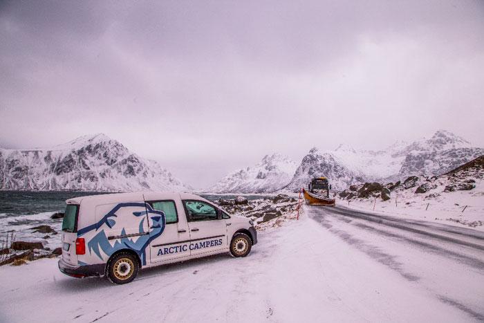 Van In The Snow 6-25