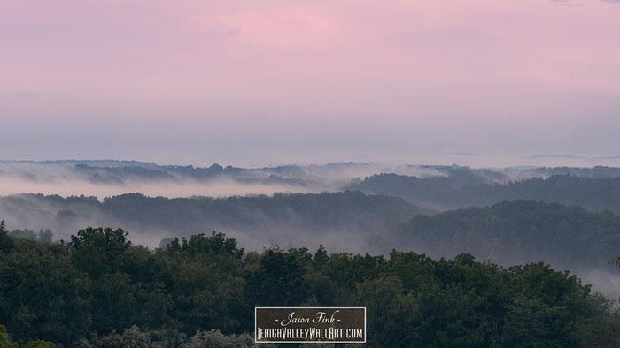 Fog On The Preserve 7-18